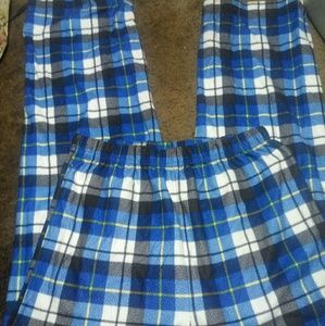 Faded Glory boys XXL (18) flannel pajama pants